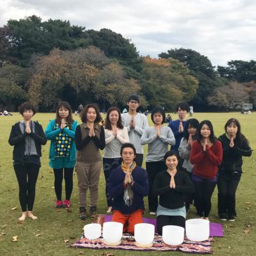 Park Yoga with Crystalbowls